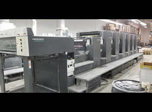 Offset six couleurs Heidelberg CD102-6-L