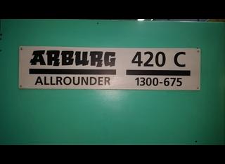 Arburg 420C-1300-675 P81220040