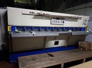 Automatic double-cut line + double gluing + monguzzi plate packer opener   Monguzzi Pulchra 45/3800