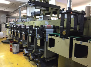 Gallus / Arsoma EM280 Label printing machine