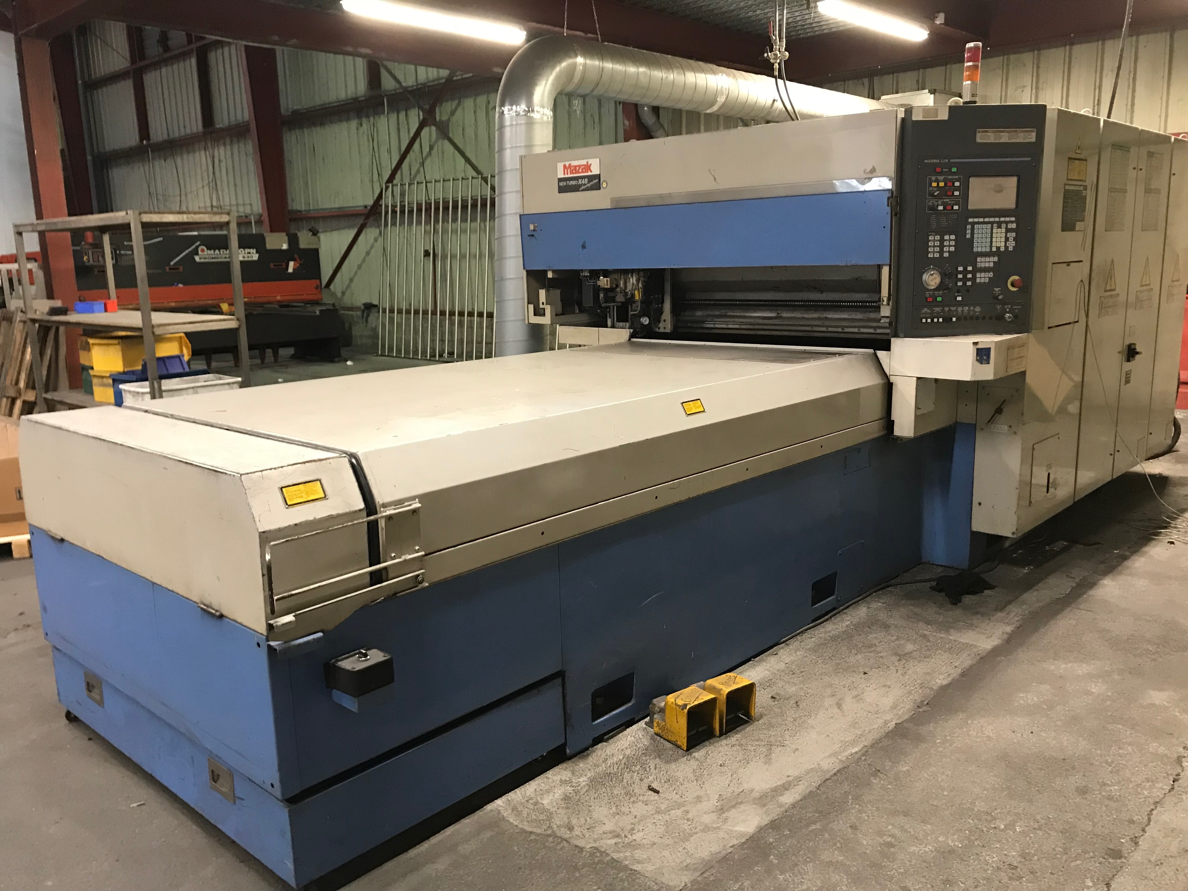 Mazak NTX 48 CHAMPION laser cutting machine - Exapro