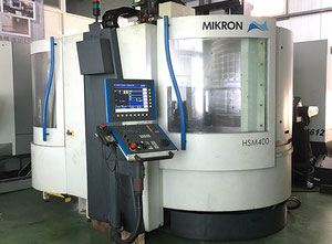 MIKRON HSM400 CNC VERTICAL MACHINING CENTER