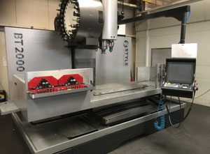 Fresatrice cnc verticale Style High Tech BT 2000