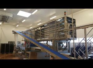 Linea completa di produzione di pane Mecatherm Tradivider