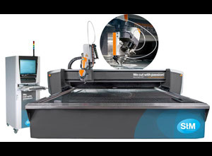 STM Premium Cut 3D waterjet cutting machine