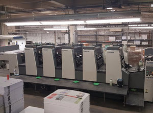 Offset 5 kolorow Komori Lithrone L526