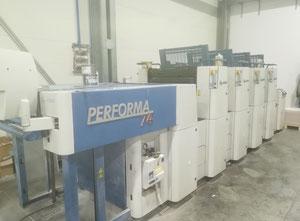 KBA Performa 74 4 Farben Offsetdruckmaschine