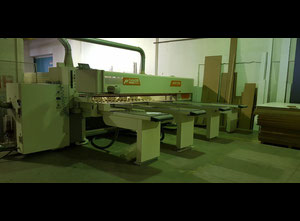 Casadei Axo 500 automatic horizontal beam saws for high production rates