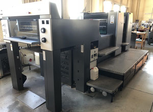 Used HEIDELBERG SM74 2H Offset two colours