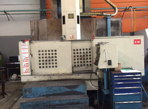 YOUJI YV 1200 vertical turret lathe with cnc