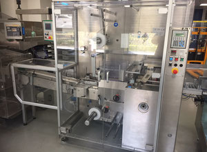 BFB (IMA) MS300A Straffbanderoliermaschine für Faltschachteln inkl. Stapelschacht