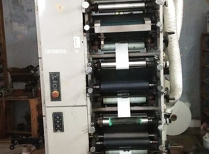 Used Weigang ZBS 320 Label printing machine