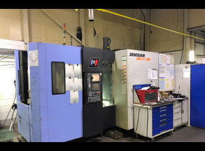 Doosan HP 4000 Machining center - palletized