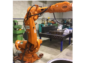 Used ABB IRB 6640-235/2.55 Industrial robot