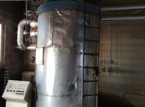 Caldera de aceite térmico, marca Konus-Orbus, de 600.000 Kcal/hora