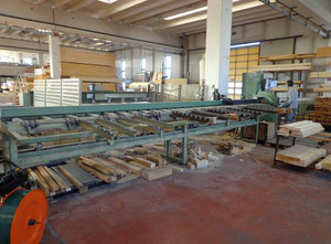 Bottene R550 Used cross-cut optimizing saw