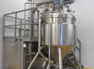 Frymakoruma Mixer & additional Mixing Vessels