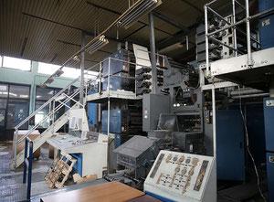 Rotační tiskový stroj Heidelberg Haris Marcury JF 35