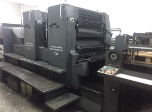 Offset 2 kolory HEIDELBERG CD 102 2
