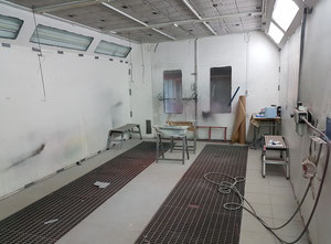 M.E.R - Spray booth