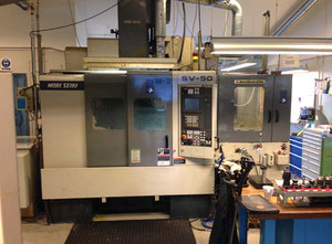 Mori Seiki SV 50 high speed machining center