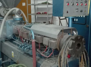 Metalchem 2T13/6M Extrusion - Twin screw extruder