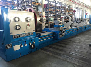 Used Leopoldo Pontiggia 800 X 11000 heavy duty lathe