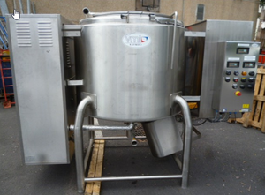 Stainless steel vmi mixer 1000 litres with double jacket