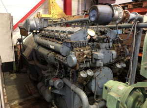 MAN V6V 16/18T Генераторный агрегат