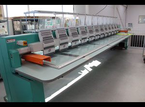 Tajima TFGN 1512 Embroidery machine