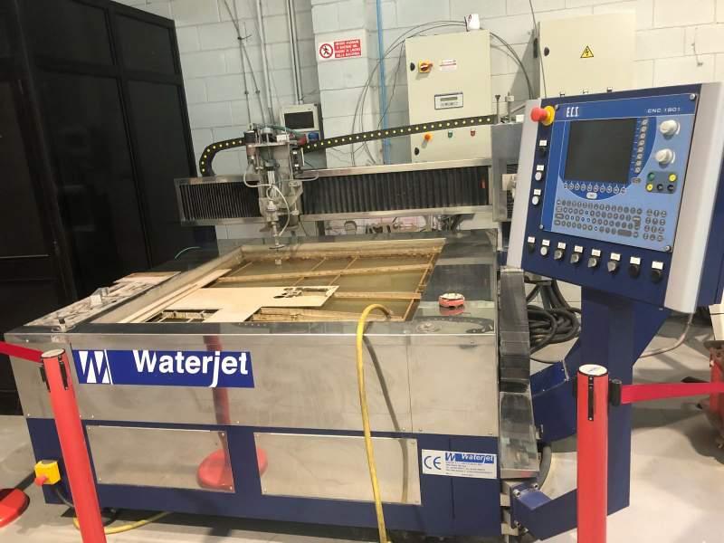 Used Waterjet 1212 waterjet cutting machine - Exapro
