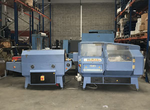Retractiladora LADYPACK AUTO 60 LSEALER & TL 60 B SHRINK TUNNEL