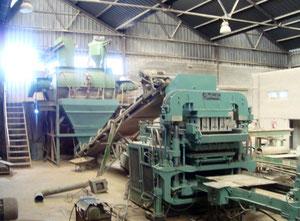 Maschinen zur Herstellung von Betonsteinen Columbia 1600