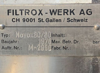Filtrox NOVOX 800 P90305031