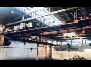 Puente grúa Gliwickie Zakłady Urządzeń Technicznych Udźwig 5 ton