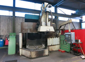 Tos SKQ 16 vertical turret lathe with cnc