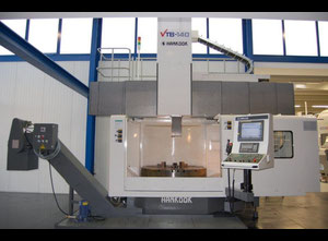 Hankook VTB 140 vertical turret lathe with cnc