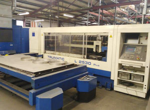 Trumpf L-2530 laser cutting machine