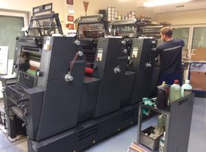 Heidelberg Printmaster GTO 52-4 4 Farben Offsetdruckmaschine