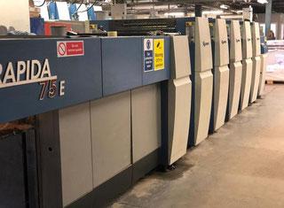 KBA Rapida 75E - 4+L P90312118