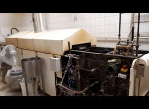 Línea completa de producción de croissant, galletas Steinhoff MZA61T Rolled Wafer Cone Baking Oven