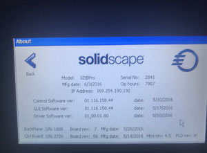 Solidscape 3Z Pro 3D Printer