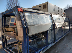 Krones Schrumpftunnel: Typ: 72/1-45-4500-S /Variopack-Verpacker:  Typ: Variopack Compac Packing machine