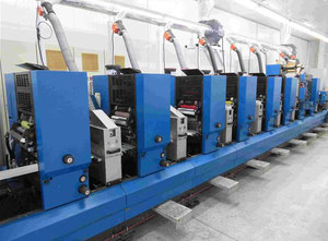 Gallus TCS250 Label printing machine