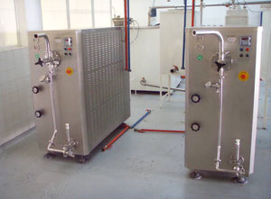 Two Ice Cream Machines for 300 Kilograms Per Hour