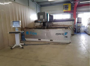 Flow Mach 3 waterjet cutting machine