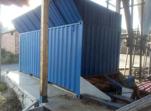 - 37m3 Used timber drying kiln