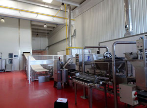 Ligne de production de croissants / biscuits Artiflex, Dubor, Gorreri, Indumatic, Thermopan, Mayma