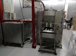 Lavadora, llenadora automática de barriles de acero inox para cerveza