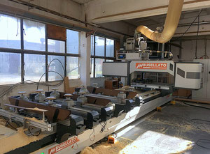 Used CNC Working center BUSELLATO MASTER 5 WF XXL